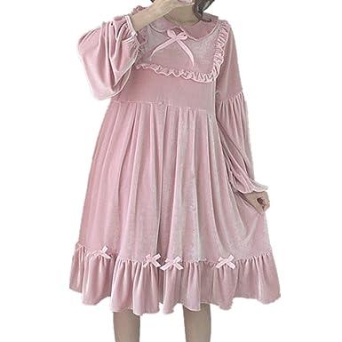 Amazon Packitcute Plus Size Dresses Girls Japanese Style