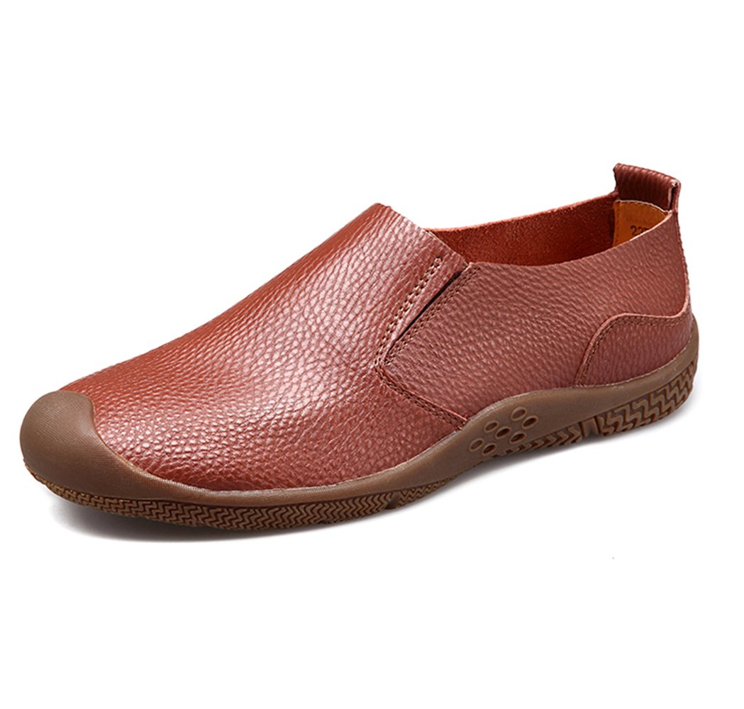 Men's Lightweight Slip-Resistant Slip-Ons - Perfect for Casual Walking and Outdoor Activities H306-43Br