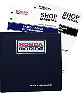 amazon com honda bf25 bf30 marine outboard service repair shop rh amazon com bf25a service manual Service Station