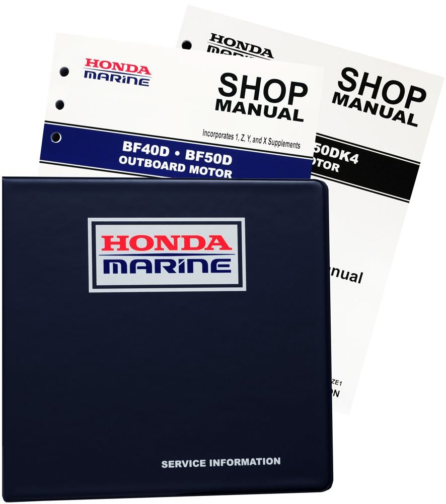Amazon.com : Honda BF40 BF50 D Model Marine Outboard Service Repair Shop  Manual : Sports & Outdoors
