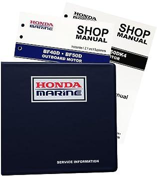 amazon com honda bf40 bf50 d model marine outboard service repair rh amazon com honda bf50d workshop manual honda bf50d service manual download