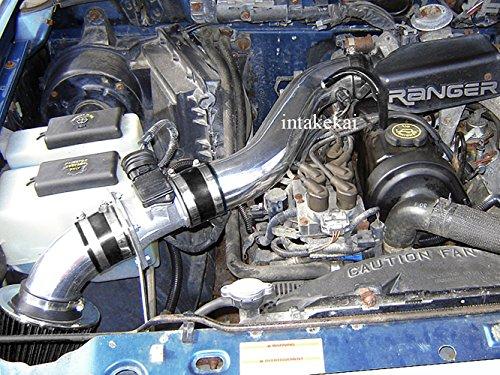 Performance Air Intake for 1995 1996 1997 Ford Ranger 2.3L / 95 96 97 Mazda B2300 2.3 l4 Engine (BLACK)