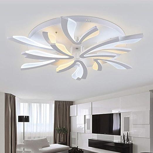 Moderno LED Soffitto luci soggiorno camera da letto balcone Corridoio  lampada da parete Lampadario in ferro , 8 head 80w Amazon.it Illuminazione