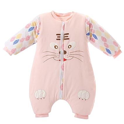 Happy Cherry Bebé Toddler Kids dormir invierno manta cálido saco de dormir Pijama Rosa rosa rosa