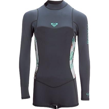 794fe83991 Roxy Womens 2 2Mm Syncro Series - Long Sleeve Back Zip Flt Springsuit -  Women