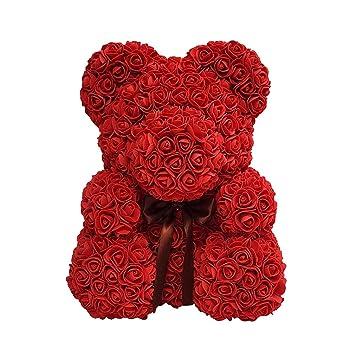 Valentinstag Rose Bar Seife Blume Teddybar Mit Geschenkbox Schones