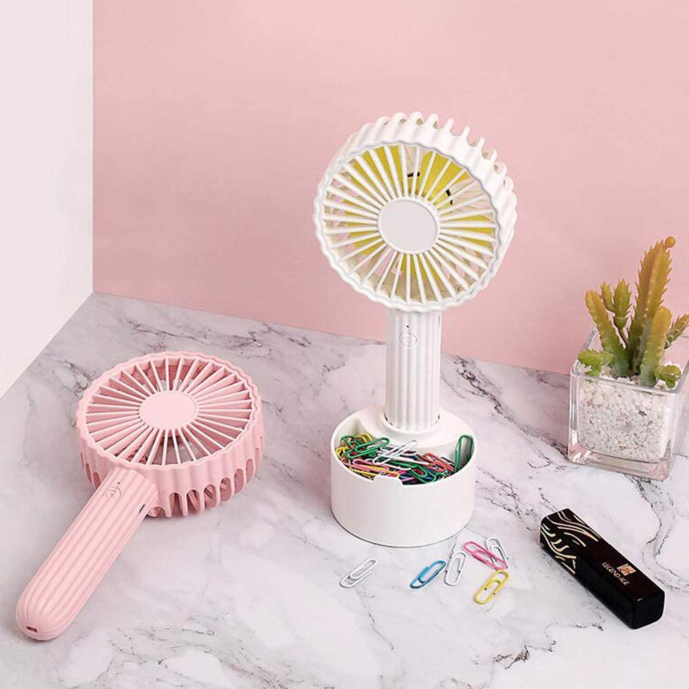 Cactus Shape 3 Kinds of Wind Speed Mobile Phone Bracket Design Mesh Cover Detachable USB Power Supply Small Fan Outdoor,Green WANGCHAO USB Desk Handheld Fan