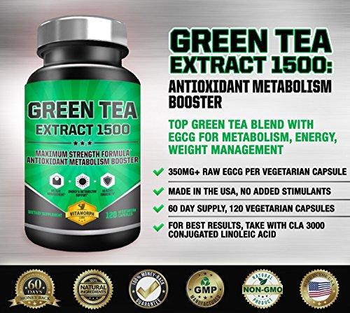 photo Wallpaper of Vitamorph Labs-EGCG Green Tea Extract 1500 | Maximum Potency Green Tea-