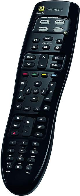 Logitech Harmony 350 Control Remoto a Distancia,Para SKY, Apple TV, FireTV, Alexa, Roku, Netflix, Sonos, Smart Home, Botón Watch TV, Configuración, LG/Samsung/Sony/Hisense/Xbox/PS4, HARMONY 350: Amazon.es: Electrónica