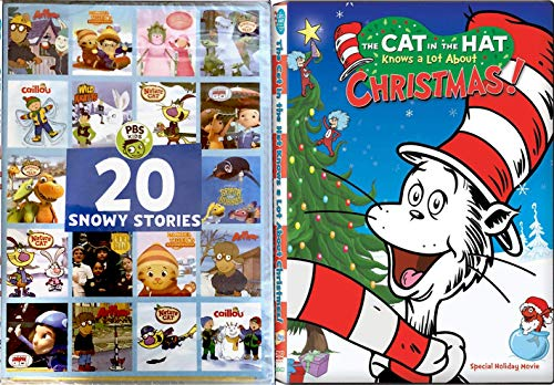 Outside Snowy Days Winter Cat in the Hat Dr. Seuss Knows A lot about Christmas Holiday Animated Adventures PBS 20 Stories Arthur / Caillou / Daniel Tiger / Odd Squad & More cartoon episodes -