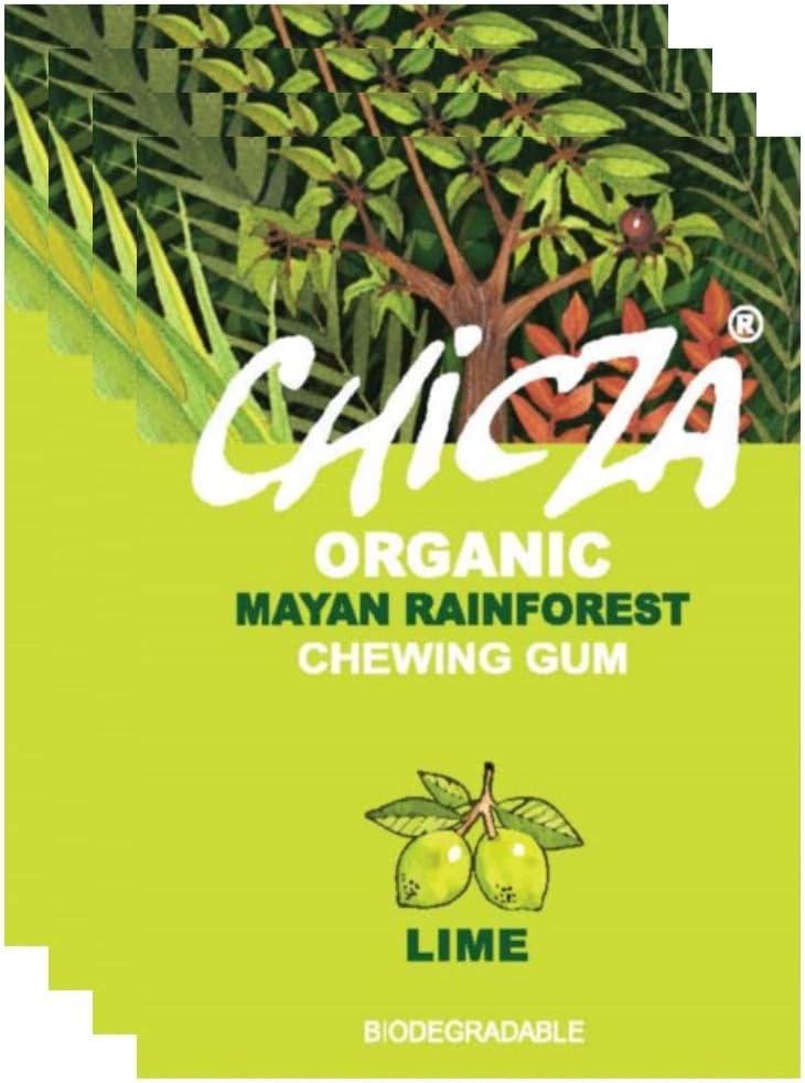 Chicza Chewing Gum - Lime - 10 x 30g: Amazon.es: Salud y cuidado ...