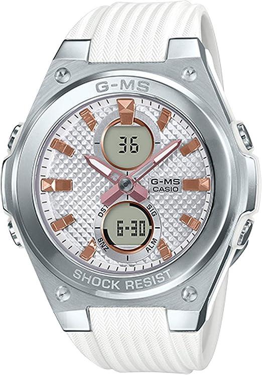 Amazon.com: Casio MSGC100G -7A - Reloj de pulsera para mujer ...