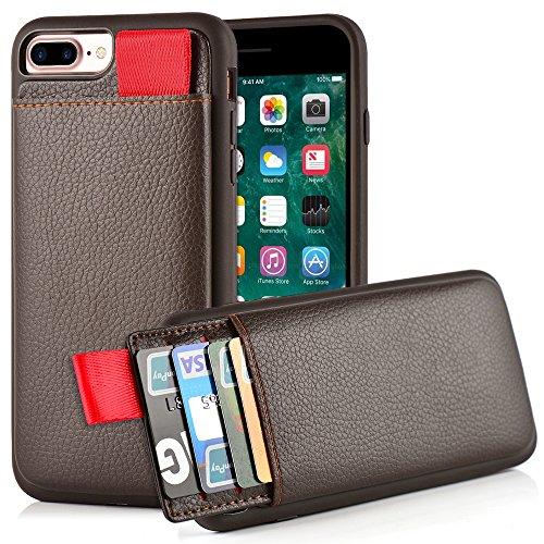 iPhone Leather LAMEEKU Protective Shockproof