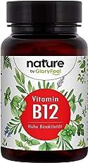 Vitamin B12 1000µg 200 Tabletten - Der VERGLEICHSSIEGER 2019* - Beide Bioaktiven B12 Formen Adenosyl- & Methylcobalamin + Depot + 400µg Folsäure als 5-MTHF - Laborgeprüfte Herstellung in Deutschland