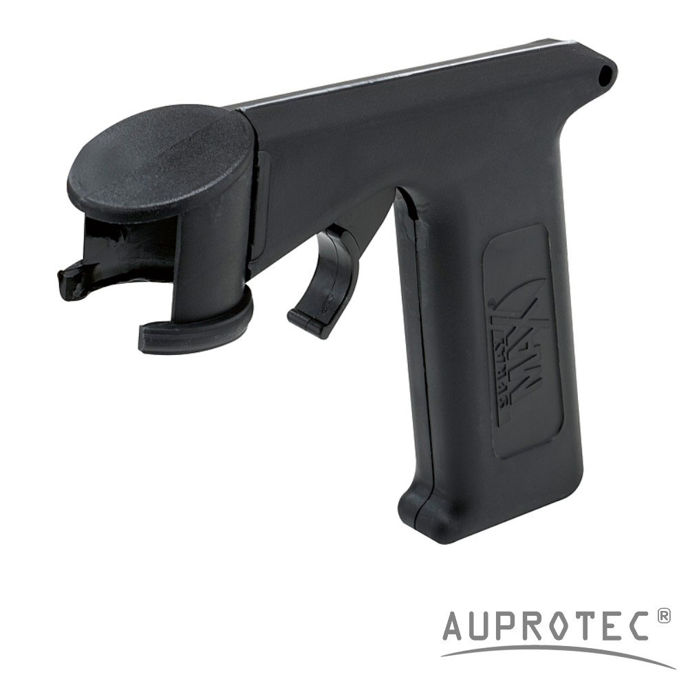 Auprotec® Normfest Pistolengriff für Sprühdosen Spraydosen Handgriff Halter Griff Lackdosenhalter