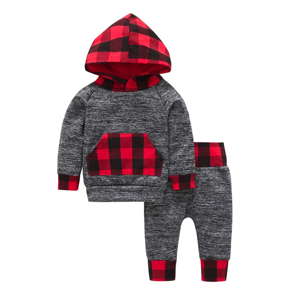 erthome Baby Clothes Set, 1-4 Years Toddler Infant Baby Boy Cartoon Elephant Pullover Sweater Sweatshirt Tops