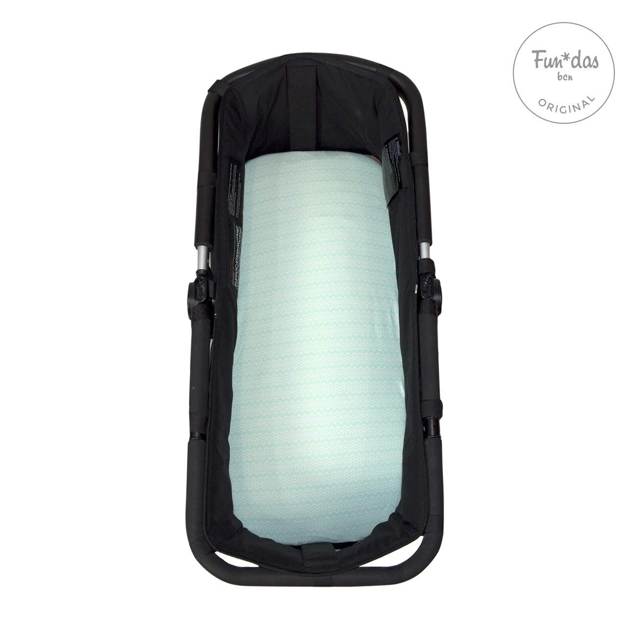 Fundas BCN /® B10//B10L Fitted Sheet Cotton Made for Your Bugaboo Cameleon/® Bugaboo Fox /® Print Ecrue. Baby Jogger /® et Uppababy Vista /® carrycot