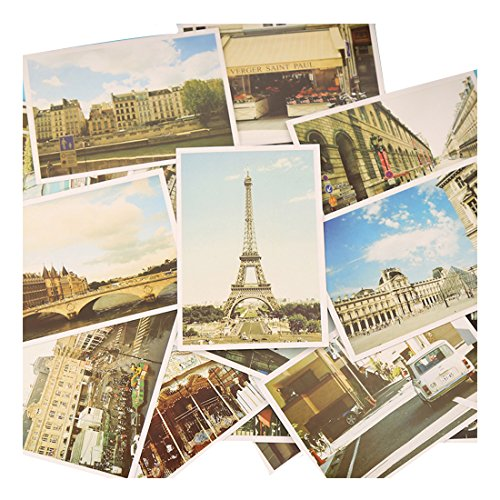Fancyoung 32Pcs Set Travel Sights Landscape Postcard Greeting Cards Souvenir Gifts by Fancyoung