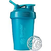 BlenderBottle Classic Loop Top Shaker Bottle, Teal/Teal, 20-Ounce Loop Top