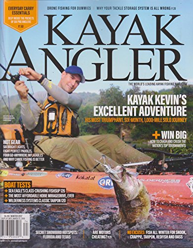 Kayak Magazine (Kayak Angler Magazine Winter 2017)