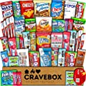 45-Count CraveBox Snacks Food Cookies Chocolate Bar Chips Candy Box