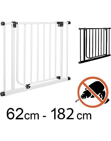 TOM - Barrera de seguridad 75 – 148 cm | Sin taladrar | puertas + escaleras