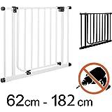 TOM - Cancelletto di Sicurezza | 93-102 cm | Senza perforazione | porta e scale | +20