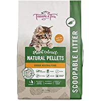 Trouble and Trix Natural Cat Litter, 10 Liter (AQ372)
