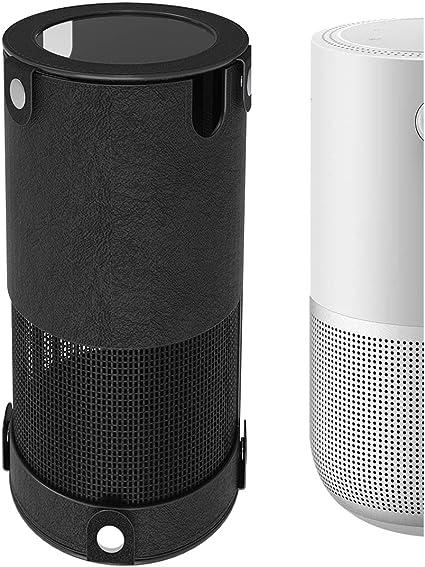 Esimen Silicone Travel Cover Case for Bose Portable Home Speaker Protective Skin Black