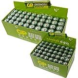 GP 超霸 7号无汞环保碳性电池40粒+5号无汞环保碳性电池40粒 超值实惠装(亚马逊自营商品, 由供应商配送)