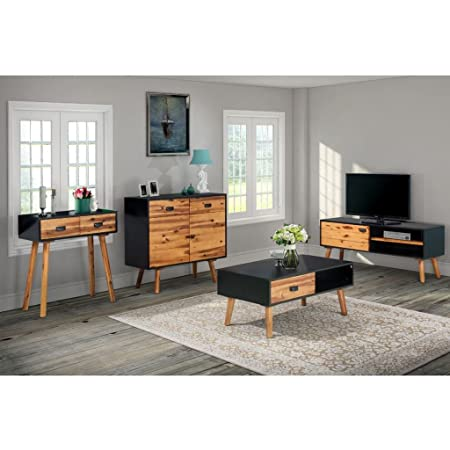 Festnight Wooden Coffee Table Tv Stand Console Table Sideboard For