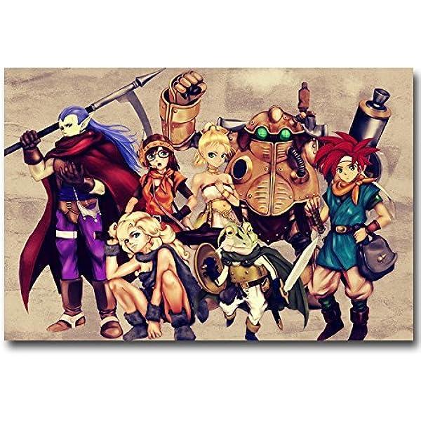 Chrono Trigger New Custom Poster Print Wall Decor Art Personalized