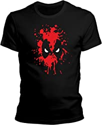 ZDesignONE DragonHive Herren T-Shirt Deadpool Comic Hero Edition 4