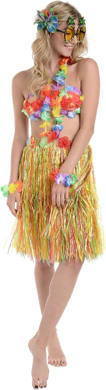 Zacs Alter Ego® - Juego de 9 Piezas de Disfraz Hawaiano para ...