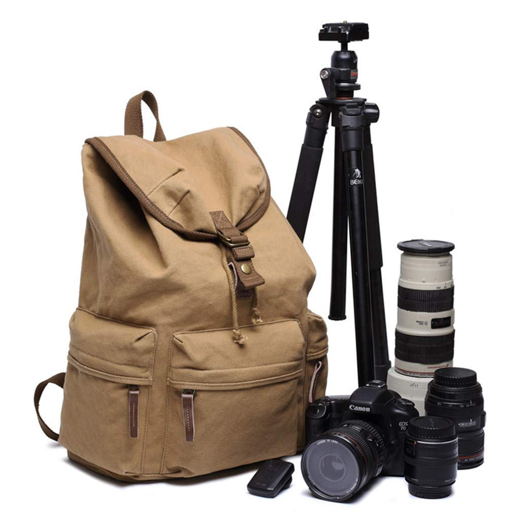 Yujingc Mochila para cámara réflex La Bolsa para Canon Nikon Sony ...