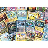 Pokemon TCG: Random Cards From Every Series, 100 Cards In Each Lot Plus 7 Bonus Free Foil Cards