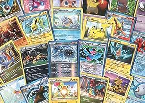 100 Assorted Pokemon Cards with Foils & Bonus Mew Promo!