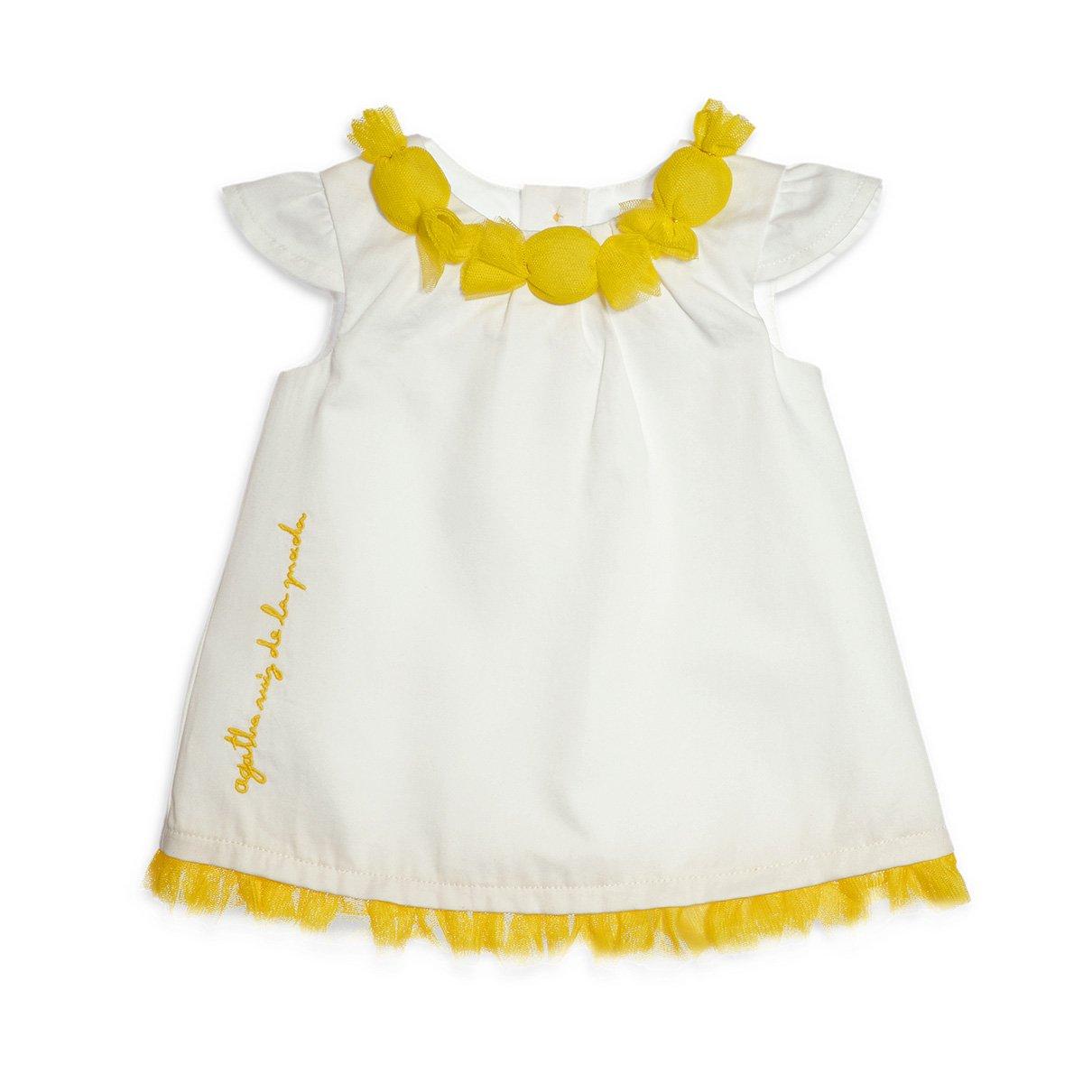 af19094c Amazon.com: Agatha Ruiz de la Prada Baby Agatha Ruiz de la Prada Baby Candy  Dress White 4A: Clothing