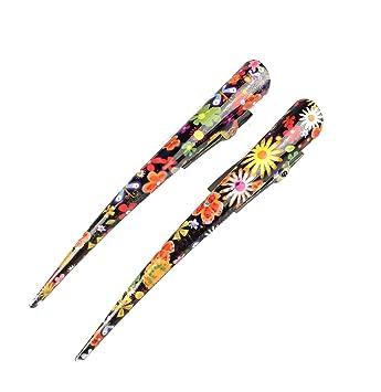 Beak Hair Clip Floral Hair Clamp Concorde Clip Hair Grip Slide Long Hair Clip...