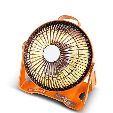 Calentador Pequeño Solar Doméstico Mini Pequeño eléctrico de Ahorro de energía Mesa de Estudiantes Dormitorio Ventilador