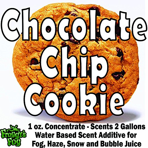 (1 oz. CHOCOLATE CHIP COOKIE - Water Based Scent Additive for Fog, Haze, Snow & Bubble Juice - Scents 2)