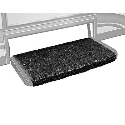 Prest-O-Fit 2-1072 Wraparound + Plus RV Step Rug Black 20 In. Wide: Automotive