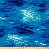 Michael Miller Peaceful Water Aqua Fabric By The Yard