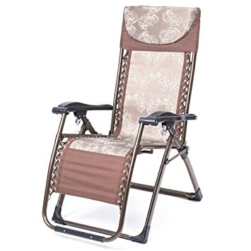 Chaises De Salon Bureau Vintage Brown Zero Gravity Chaise Pliante Lunch Break Bercante Canape