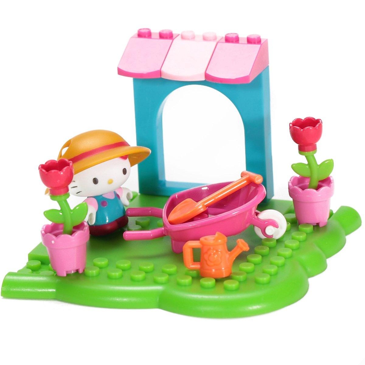 Mega Bloks Hello Kitty Flower Garden - 16 pieces B007JW4D3C Bau- & Konstruktionsspielzeug König der Quantität   Sofortige Lieferung