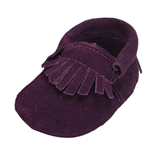 Leap FrogMoccasins Boots - Mocasines Bota para niño, Color Morado, Talla 12-18 Meses: Amazon.es: Zapatos y complementos