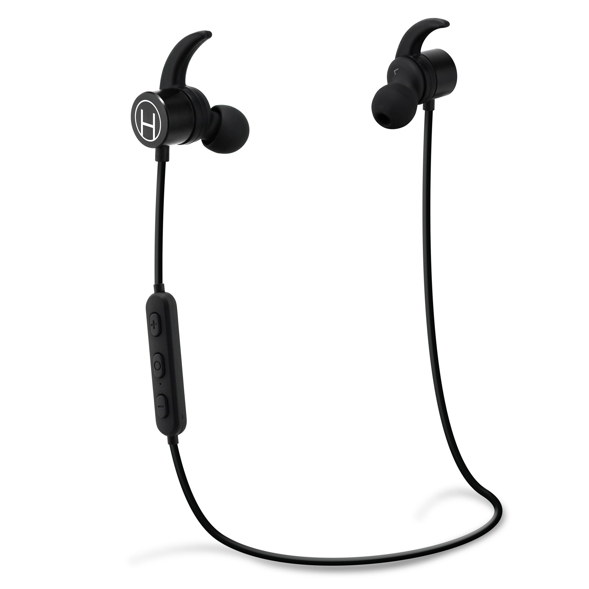 Bluetooth headphones for the Gym, In-The-Ear Headphones Bluetooth Headphones with Mic - Bluetooth Headset For Gym and Activities Noise Canceling by Hutchee