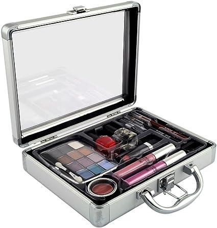Gloss - caja de maquillaje, caja de regalo para mujeres - Maleta de Maquillaje - 23 Pzs: Amazon.es: Belleza