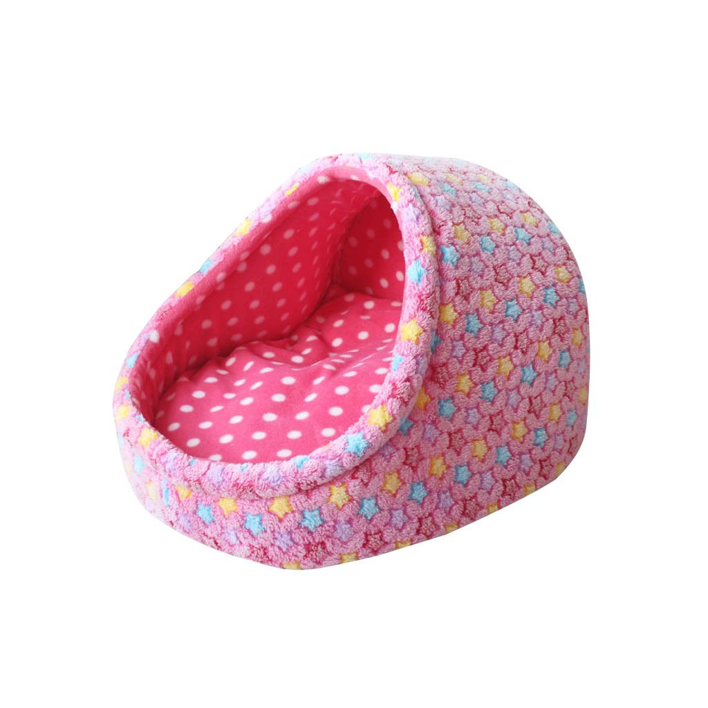 B S B S TLTLCWW Cat Bed,small Dog, Baby Cat, Pet Nest, Closed Warm Cat Room, Multi-size (color   B, Size   S)