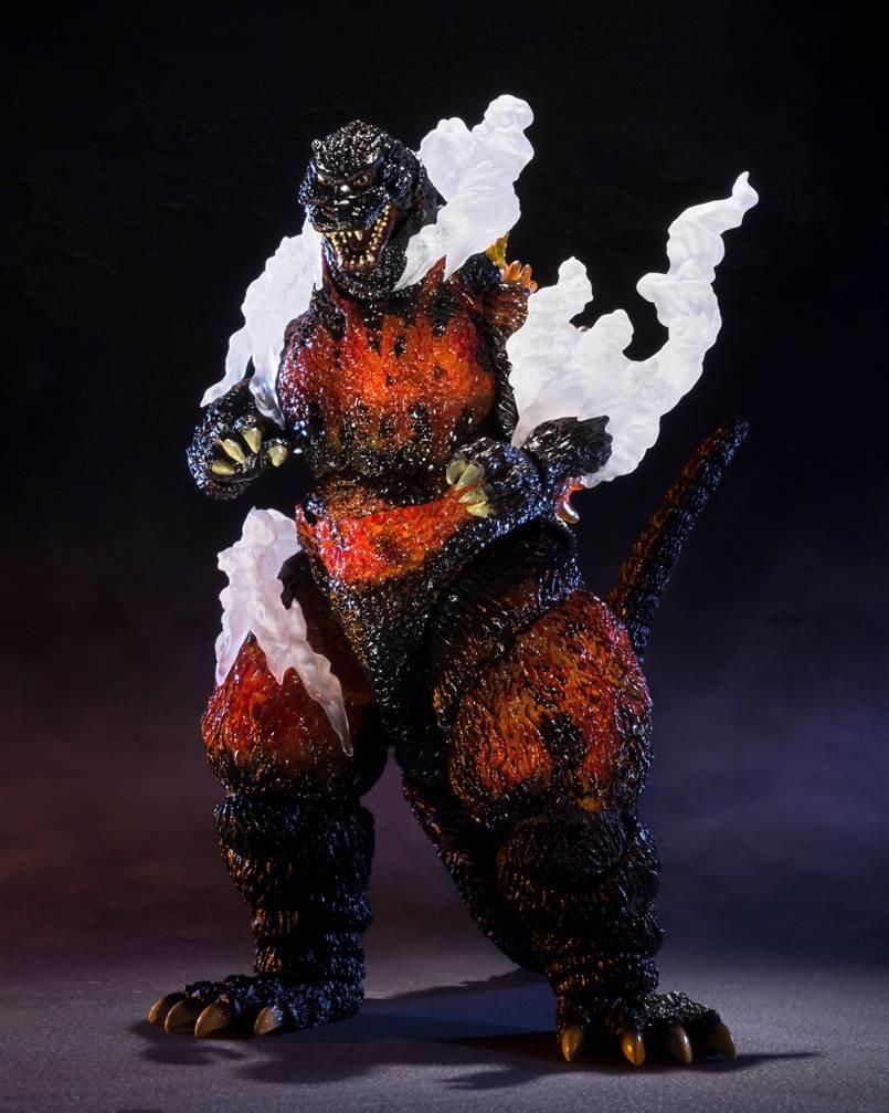 S.H.モンスターアーツ ゴジラ(1995) Ultimate Burning Ver. (魂ウェブ商店) B01J6DRYQO